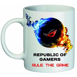 Кружка Republic of Gamers Rule the game